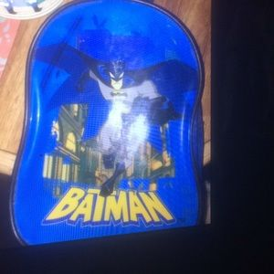 💜Batman toddler backpack